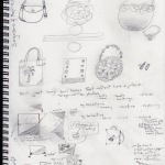 sketches handbag designs 2014