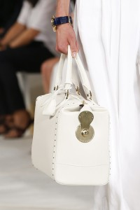 Team a white outfit with a white bag. From Ralph Lauren.