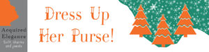 Acquired Elegance logo soft charms and jewellery, Dress up her purse.